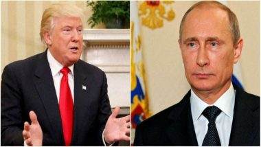 US President Donald Trump Calls Vladimir Putin, Talks of 'Russian Hoax'