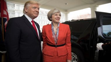 Donald Trump Suggested I Sue EU over Brexit: Theresa May