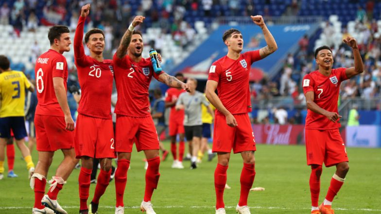 England Football Team Thrive in FIFA World Cup 2018 ...