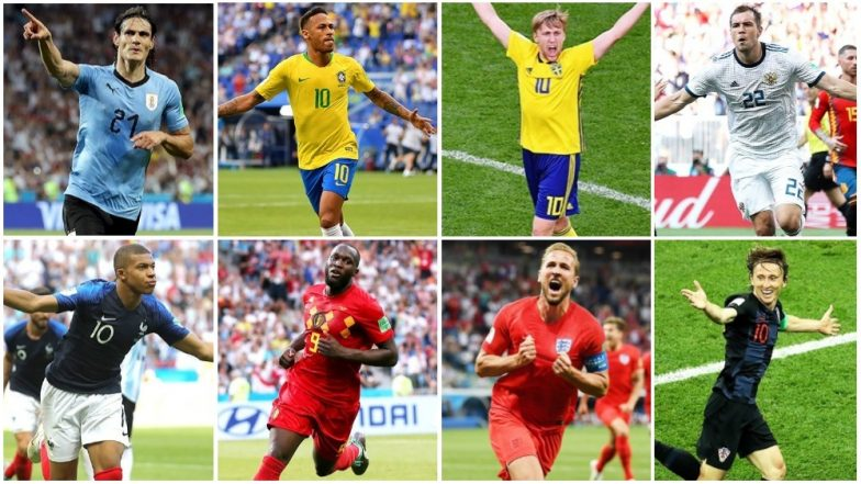 France, Uruguay, Brazil, Belgium Sweden, England, Russia, and Croatia Qualify for 2018 FIFA World Cup Quarterfinals: A Look at Their Respective Journeys at WC So Far
