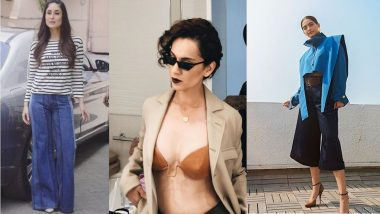 Narrow-Framed Sunglass and High-Waist Flared Pants Are Back in Trend and We Can't Keep Calm!