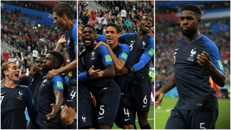 France vs Belgium Video Highlights and Match Result: Samuel Umtiti Header Takes FRA Into the 2018 FIFA World Cup Final
