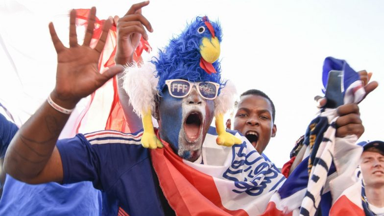 FIFA World Cup 2018: Parisians Sing 'Ole,Ole' and Dance Throughout Night as France Reaches World Cup Final
