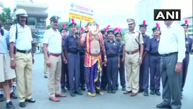 After 'Yamraj', Bengaluru Police Deploys Lord Ganesha for Campaigns Road Safety Awareness