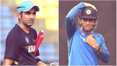 Gautam Gambhir Has His Say on MS Dhoni's Retirement, Here's What Former KKR Captain Said