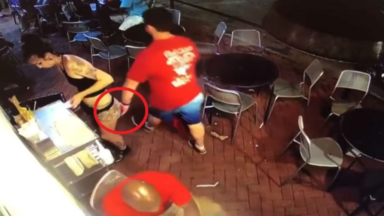 Georgia Waitress Hits Pervert Who Groped Her at Restaurant, Gets Him Arrested (Watch Video)