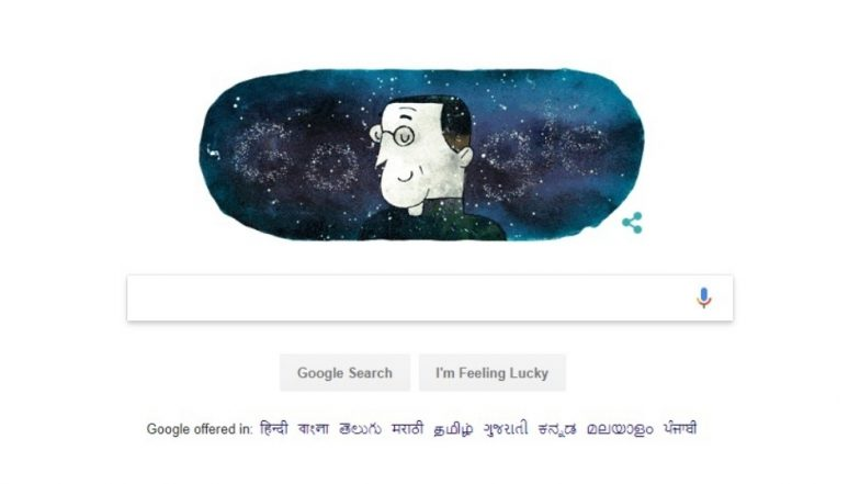 Georges Lemaître Birth Anniversary: Google Doodle Celebrates Birthday of Astronomer Behind Big Bang Theory