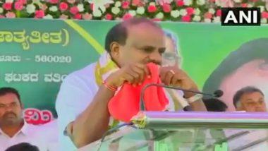Be Courageous: Congress Tells HD Kumaraswamy Who Broke Down in Public