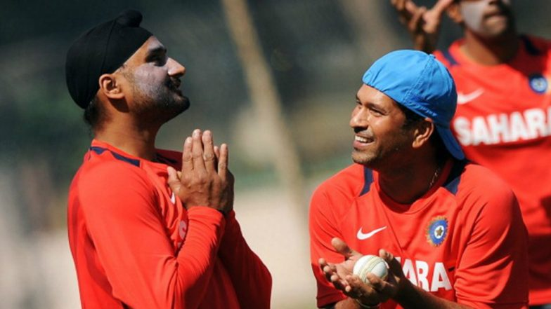 Sachin Tendulkar Tweets Birthday Message to Harbhajan Singh in Tamil