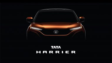 Tata Harrier SUV aka H5X Concept Official Teaser Released Ahead of India Launch - Watch Video