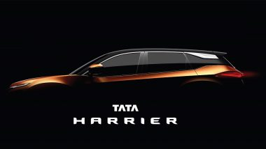 Tata H5X SUV Officially Named 'Tata Harrier'; India Launch by Q1, 2019