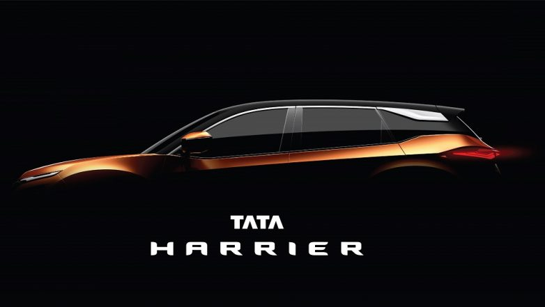 Tata Harrier SUV Officially Teased Again; Undergoes Water Wading Test - Watch Video