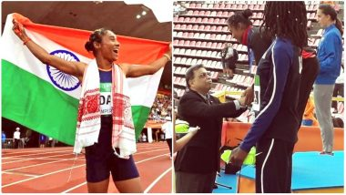 Hima Das To Be First Sports Ambassador of Assam; Gold Medalist at IAAF U20 Championship To Be Given State-Level Felicitation