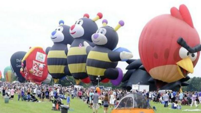 The 36th Edition of Hot Air Balloon Festival Starts in US City
