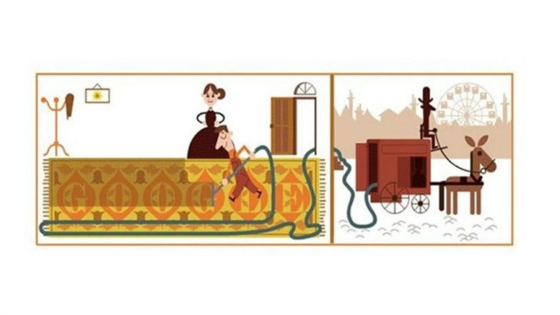 Hubert Cecil Booth's 147th Birthday: Google Dedicates a Doodle to the Inventor of Vacuum Cleaner