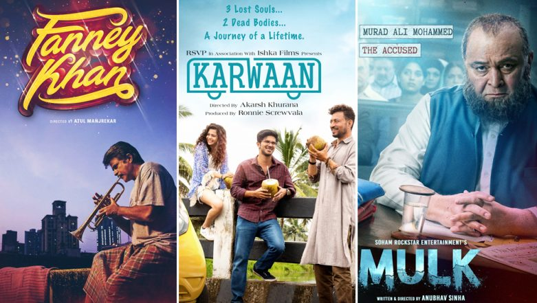 Anil Kapoor-Aishwarya Rai's Fanney Khan, Irrfan Khan-Dulquer Salmaan's Karwaan or Rishi Kapoor-Taapsee Pannu's Mulk - Which Movie are You Most Excited to Watch on August 3? Vote!