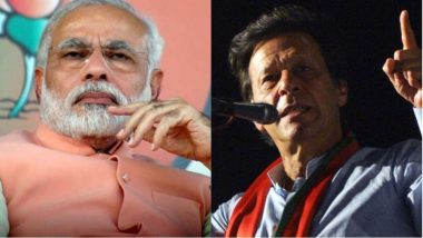 Imran Khan Congratulates PM Narendra Modi; Expresses Desire to Work With Him for Peace in South Asia