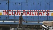 Indian Railways Update: Passenger, Suburban Train Services to Remain Suspended Till Further Notice, 230 Special Trains Will Continue to Operate, Says Govt