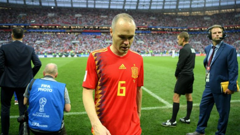 Andres Iniesta Retires After Spain's Shocking Penalty Shootout Defeat by Russia 2018 FIFA World Cup