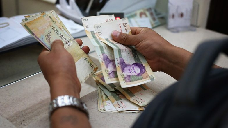 Iran currency extends record fall as U.S. sanctions loom