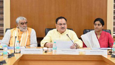 Swine Flu Cases on Rise: Health Minister JP Nadda Speaks to Top Officials of Maharashtra, Rajasthan, Tamil Nadu, Kerala, Karnataka