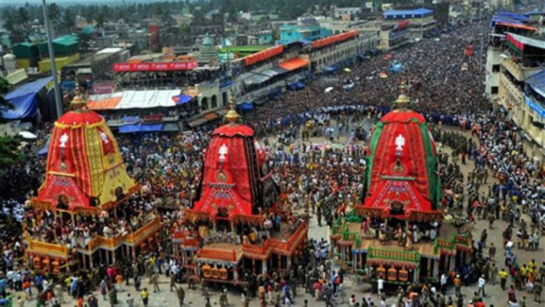 Rath Yatra 2018: Israeli Balloon Camera to Be Used for Surveillance During Annual Lord Jagannath Procession