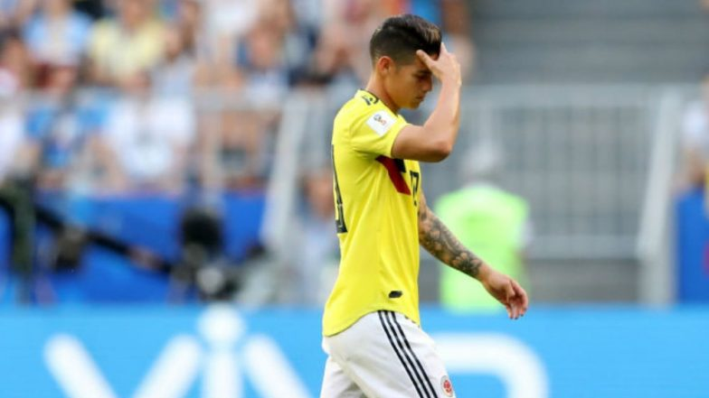 2018 FIFA World Cup: James Rodriguez Suffers Calf Injury, Doubtful for Colombia vs England Round of 16 Match