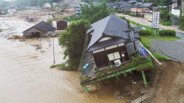 Japan Floods: Death Toll Reaches to 200, Dozens Still Missing