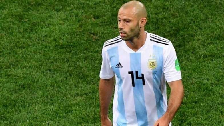 Argentina's Javier Mascherano Announces Retirement After the Team's Exit From 2018 FIFA World Cup