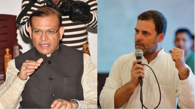 Unfazed Jayant Sinha Dares Rahul Gandhi For Live Debate on Ramgarh Lynching Case