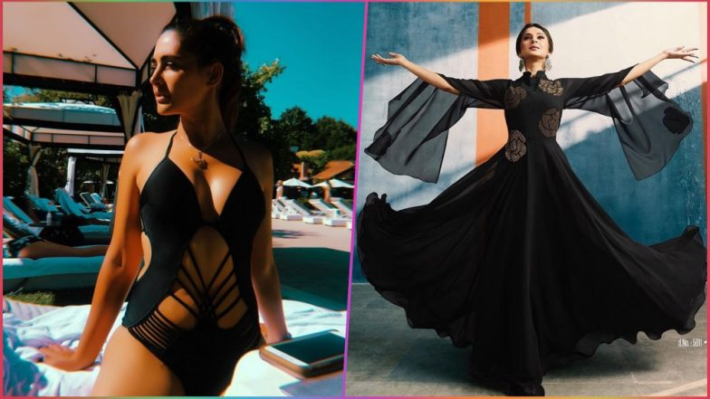 Nargis Fakhri in a Cut-Out Monokini and Jennifer Winget in an Anarkali, These Stars Kill It in Sexy Black
