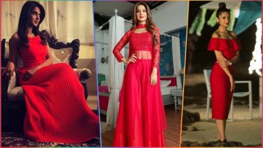 Jennifer Winget Looks Hot in New Post-Leap Avatar for Bepannah As Zoya! 6 Times Indian TV Actress Made the Red Colour Dresses Look Sexy (See Pictures)