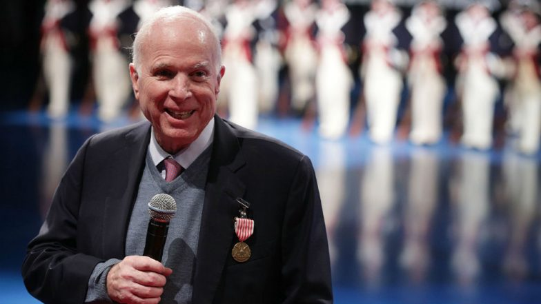 John McCain, Veteran US Senator, Dies Battling Cancer at 81