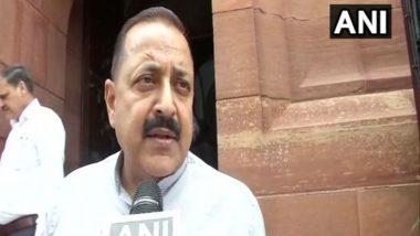Opposition Politicising Assam NRC Draft Issue: Jitendra Singh