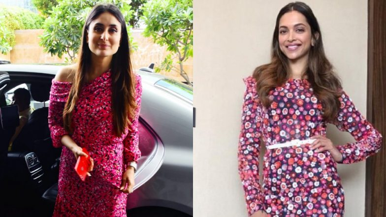 Kareena Kapoor Khan's Latest Outfit Finds Its Twin In Deepika Padukone's Michael Kors Outfit From 2017 - View Pics