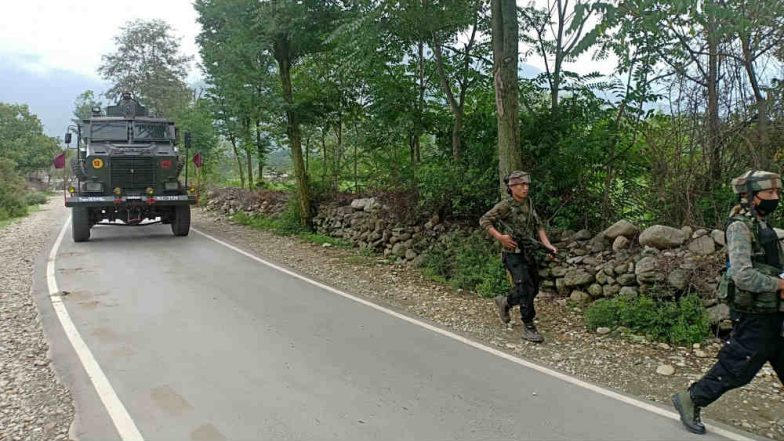Jammu & Kashmir: Search Operation Underway in Shopian District