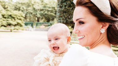 Prince Louis' Christening Pictures: Kensington Palace Releases Royal Family's Photographs