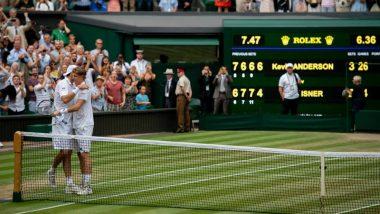 Kevin Anderson Beats John Isner in Longest Semi-Final Tennis Match in Wimbledon History, to Face Nadal vs Djokovic Match Winner in 2018 Final!