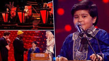 Indian Origin Boy Krishna Performing 'How Deep Is Your Love' and 'Balam Pichkari' Stunned the Judges on The Voice UK, Watch Videos
