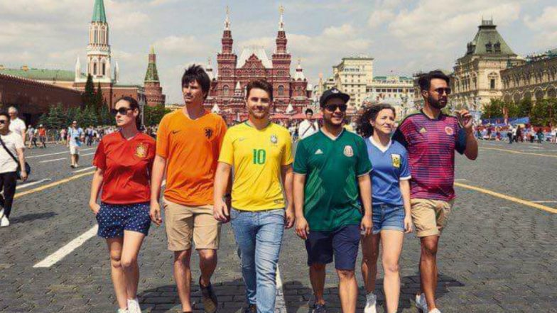 FIFA World Cup 2018: LGBT Activists Create 'Hidden Rainbow Flag' to Protest  Against