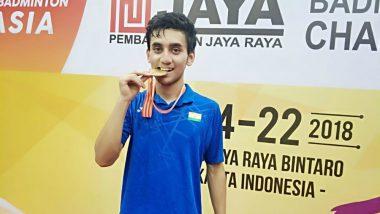 Lakshya Sen Wins Gold For India at 2018 Badminton Asia Junior Championships