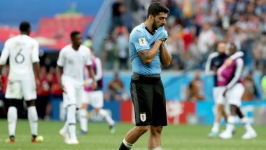 FIFA World Cup 2018: Luis Suarez Says Edinson Cavani's Absence Cost Uruguay Against France in Quarter-Final