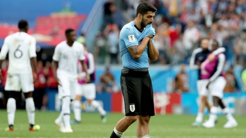 FIFA World Cup 2018: Luis Suarez Says Edinson Cavani's Absence Cost Uruguay Against France in Quarter-Final