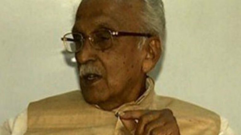 Senior Congress Leader M M Jacob Dies at 92
