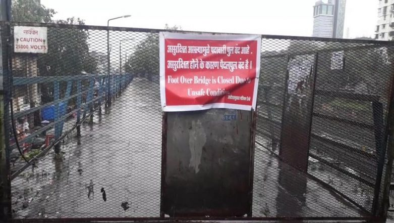 Two Foot Over Bridges at Malad Railway Station Shut, Mumbai Police Warn of Crowd at Only Operational FOB