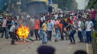 Arunachal Pradesh: One Killed in Police Firing on Protesters; Rajnath Singh Appeals to People to Maintain Peace