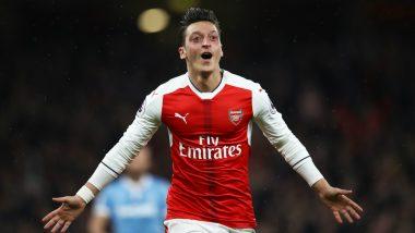 Mesut Ozil Sends Arsenal Fans in a Frenzy After Trolling Tottenham Hotspur on Social Media