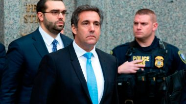 Trump's Former Lawyer Michael Cohen Sentenced to Three Years in Jail