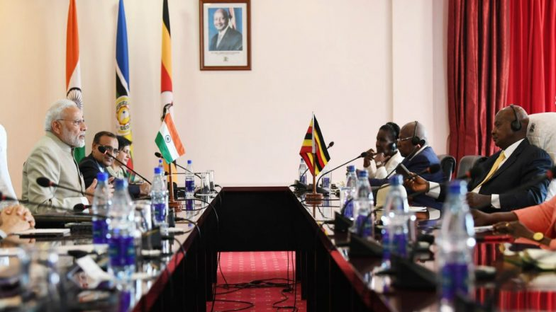 India, Uganda Agree to Boost Economic, Defence Cooperation