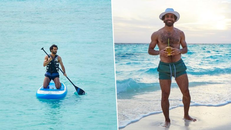 Egypt's Mohamed Salah Vacations Ahead of Returning to Liverpool (Pics)